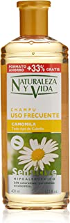 Naturaleza y Vida 1101-73825 - Champú Sensitive Camomila, 400 ml