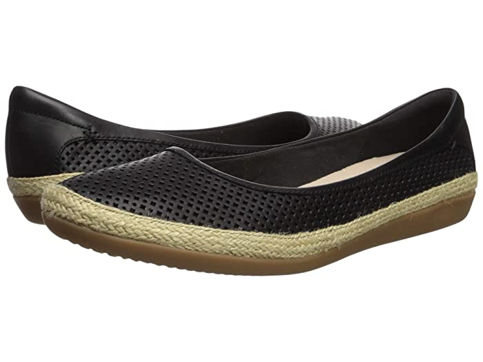Clarks  Danelly Adira (Black Leather) Womens Shoes