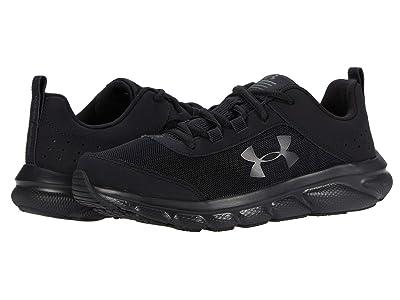 Under Armour Kids UA Assert 8 (Big Kid) (Black/Black/Black) Kids Shoes