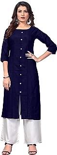 Vbuyz Women's Cotton Straight Kurti(VF-KU-487)