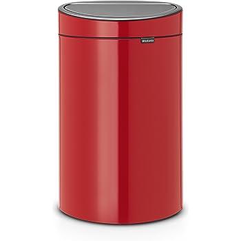 Poubelle Bo Touch Bin 36 litres Rouge 315749 Brabantia