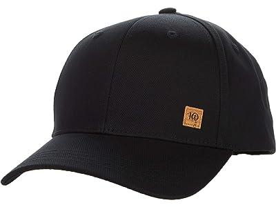 tentree Cork Icon Elevation Hat (Meteorite Black) Caps