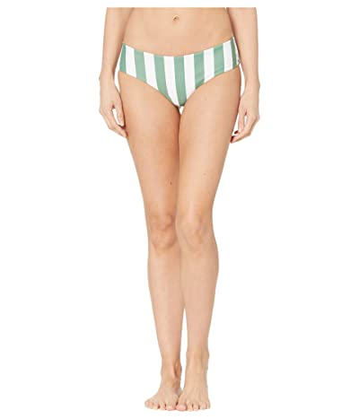 MIKOH SWIMWEAR Bondi 2 Bottoms (Retro Stripe Maui) Women