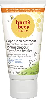Burts Bees Baby Bee Diaper Rash Ointment for Kids, 3 oz