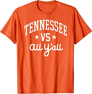 Tennessee Vs. All Y'all Knoxville Volunteer Vintage Gift T-Shirt