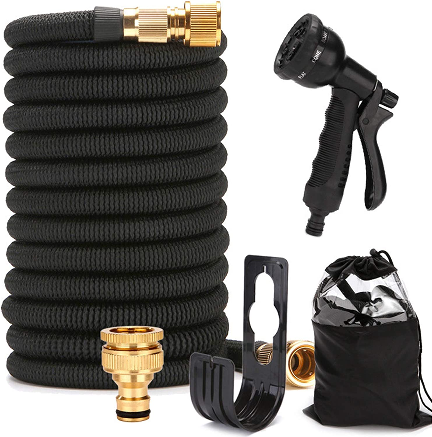 Now on sale PUYBVA Garden Hoses Expandable Flexible Spray Special price for a limited time G with 8 Functions