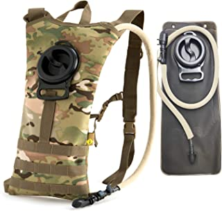 Akmax.cn US Army Molle II Rifleman Set with FLC and Pouch 3Day Assault Pack- Hydration Backpack Tactical Backpack Multicam