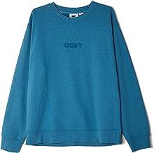 OBEY - Sweatshirt met ronde hals Bold Ideals Speciality Fleece - Deep Ocean - (L)