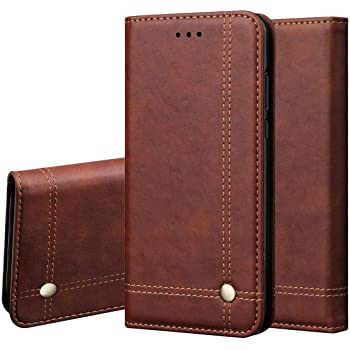 Pikkme Vivo S1 Pro Leather Flip Cover Wallet Case (Vivo S1 Pro, Brown)