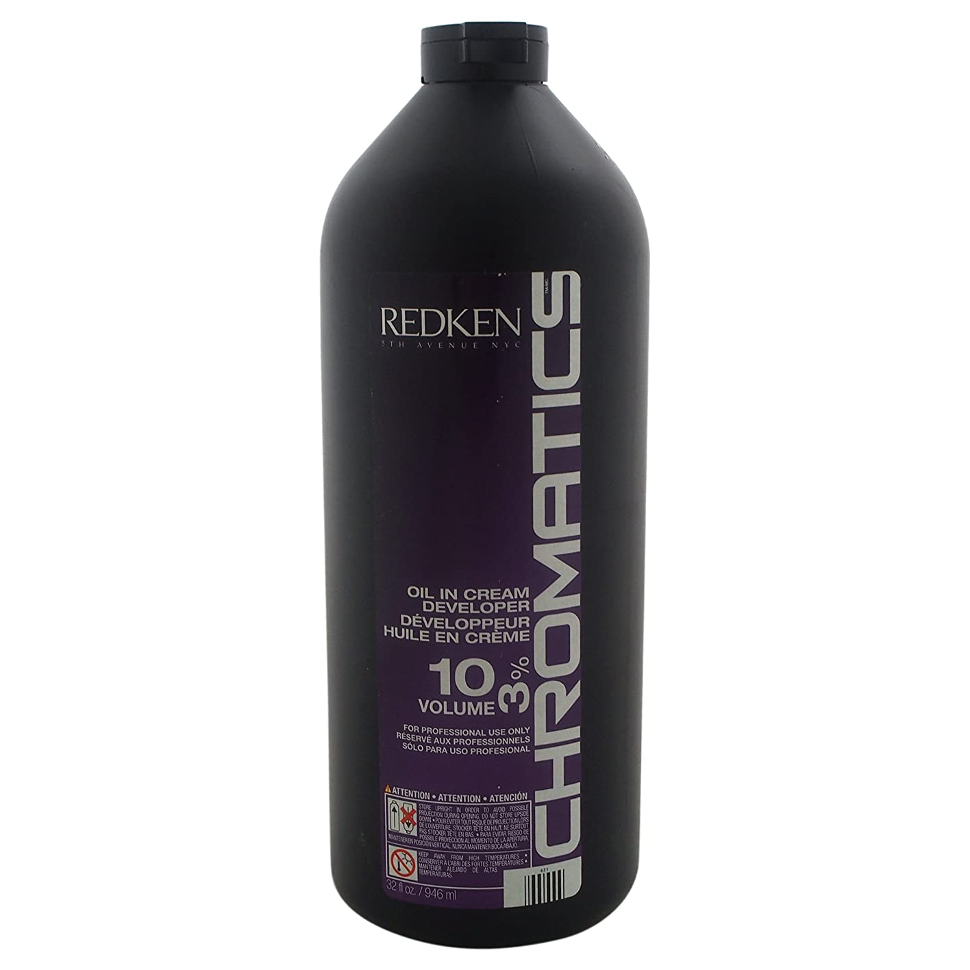 周波数極小危機REDKEN レッドケン色彩油中のクリームデベロッパー10巻3パーセントクリーム、32オンス