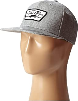 cb4bef501189c Heather Grey. 44. Vans. Full Patch Snapback