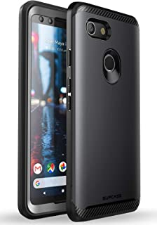 SUPCASE [UB Neo Series] Case for Google Pixel 3, with Built-in Screen Protector Full-Body Protective Dual Layer Armor Cover for Google Pixel 3 Case 2018 Release, Retail Package (Black)