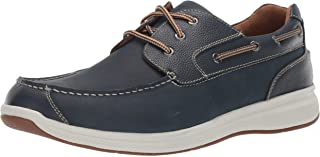 Florsheim Mens Ontario Casual Slip on Moc Toe Oxford