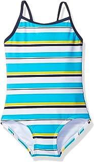 Kanu Surf Girls' Bridget Stripe 1-Pc Swimsuit