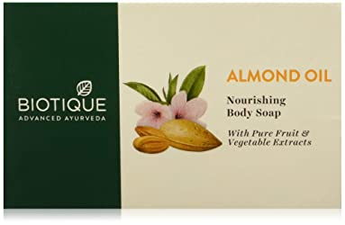 Biotique Almond Oil Soap, 75g