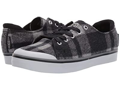 Keen Elsa III Sneaker (Black Plaid/Black) Women