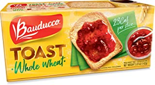 Bauducco Whole Wheat Toast - 5.64 oz | Torrada Integral Bauducco - 160g - (PACK OF 01)