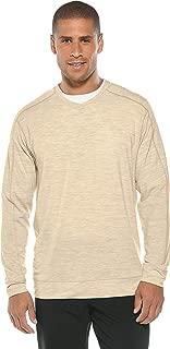 UPF 50+ Men's Coopers Merino V-Neck Sweater - Sun Protective