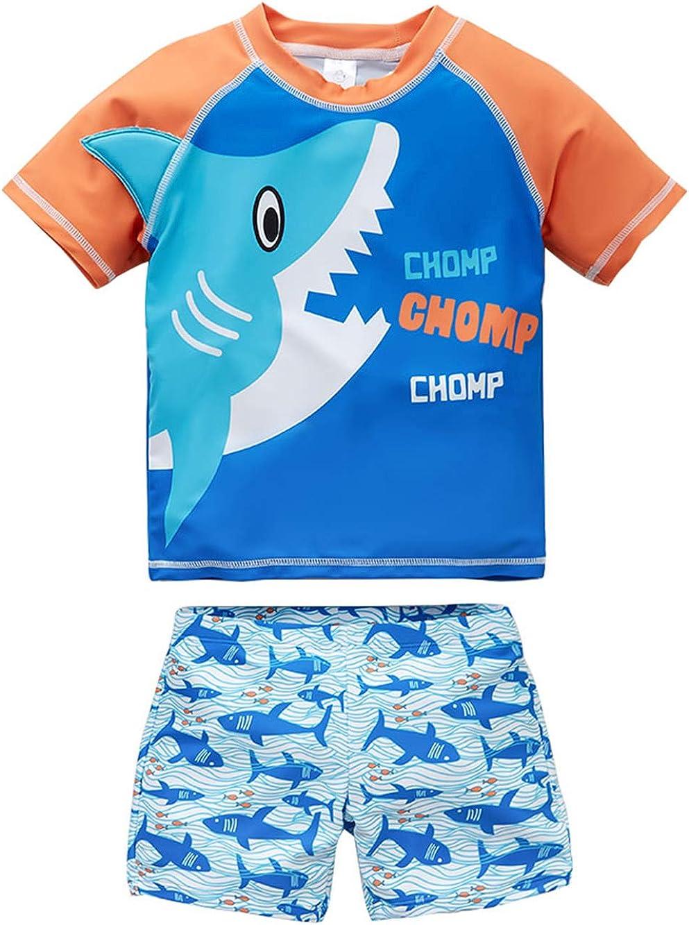 kavkas Baby Special sale item Boy Swimsuit Toddler Rash Set Guard B Two Piece Swim Ranking TOP7