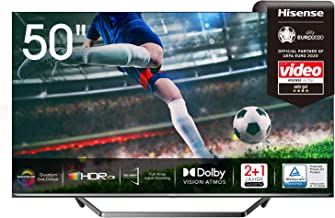 Hisense 50U7QF QLED 126cm (50 Zoll) Fernseher (4K ULED HDR Smart TV, HDR 10+, Dolby..