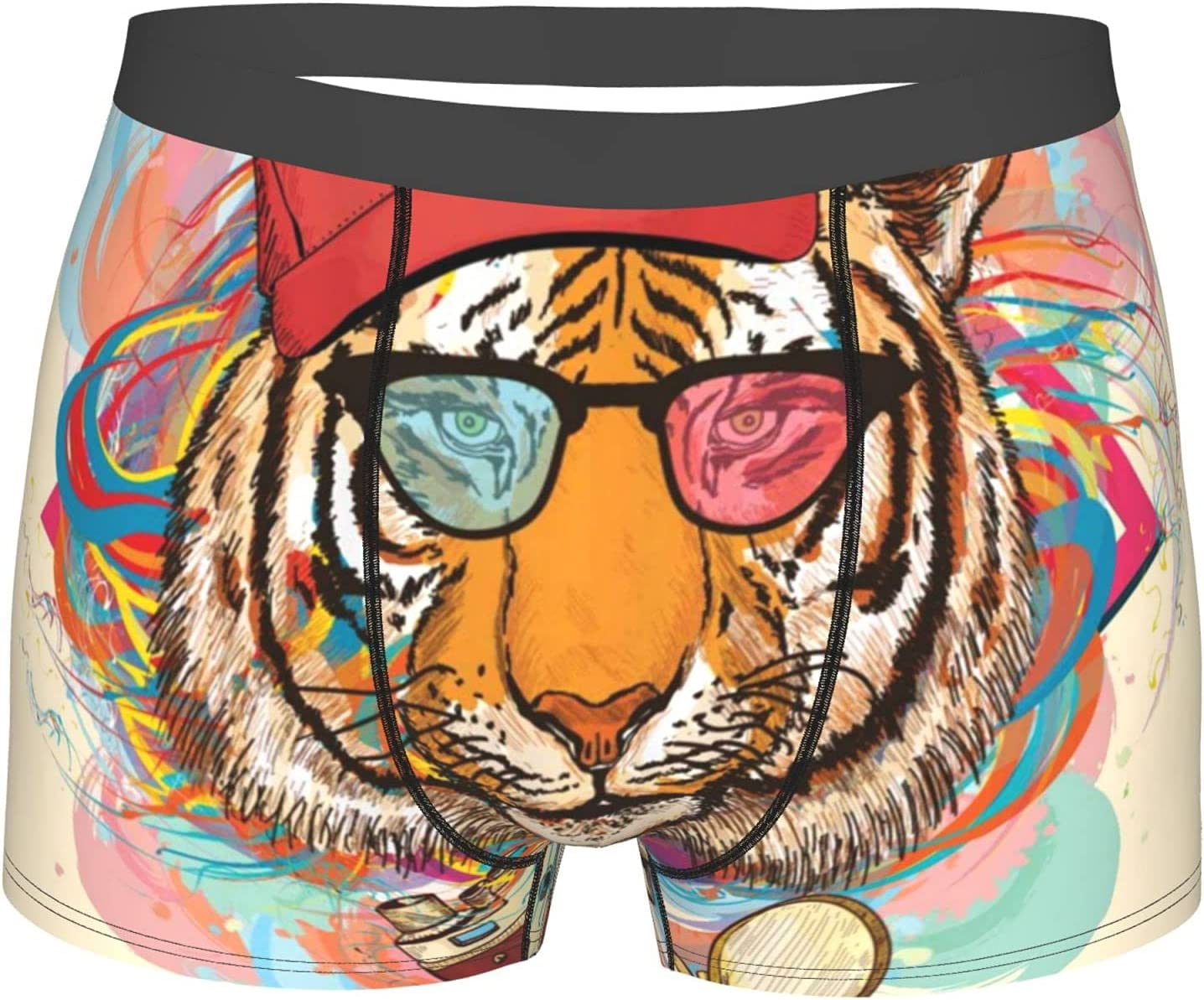 YAZXHJAZ Underwear Mens Boxer Excellence Award-winning store Briefs Tiger with Hipster S Rapper