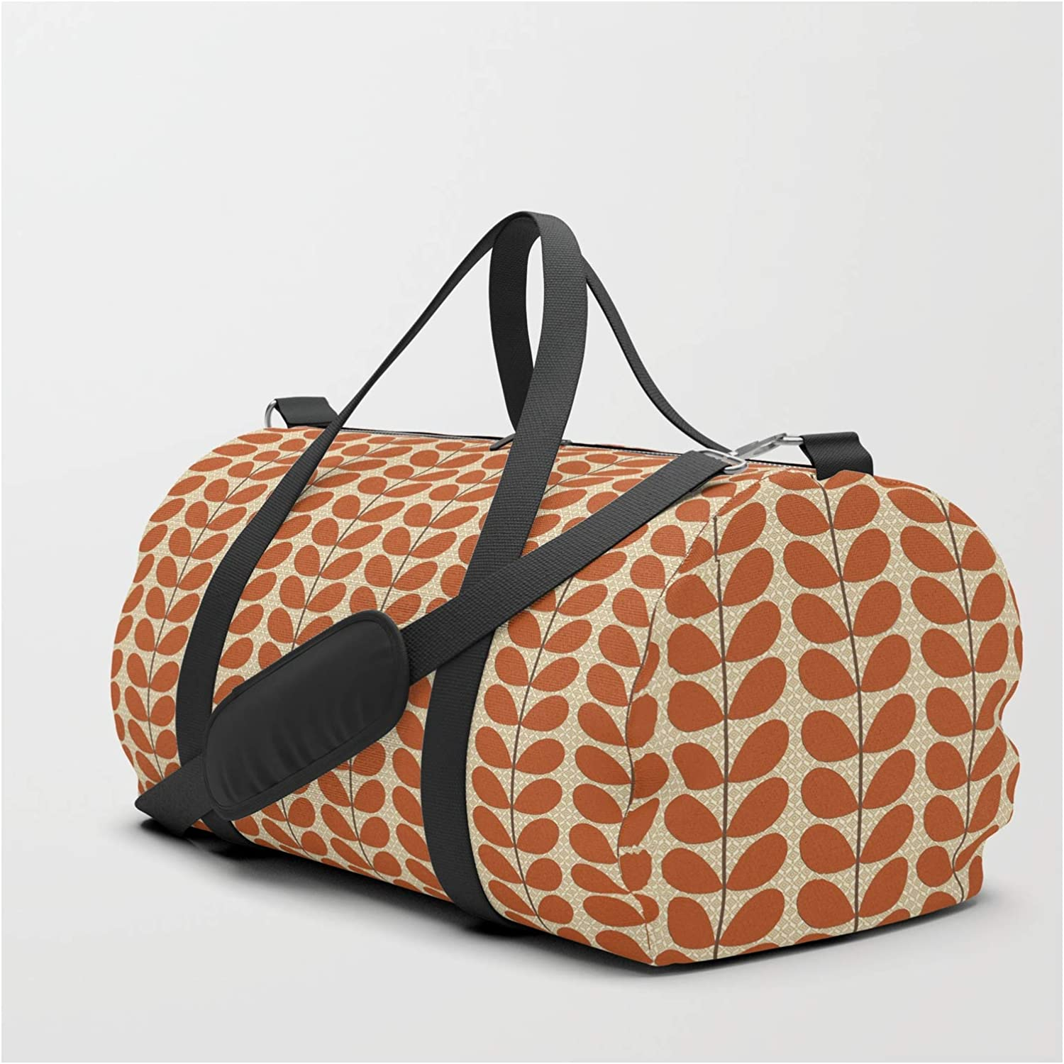 Society6 Mid Century Danish Los Finally resale start Angeles Mall Leaves Rust by Brown and G Mm Beige