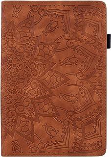 JIan Ying Capa para Kindle Paperwhite 4 padrões 2018 capa protetora leve preta meia flor