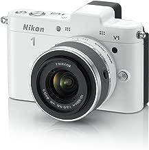 Nikon 1 V1 10.1 MP HD Digital Camera with 10-30mm VR 1 NIKKOR Lens (White)