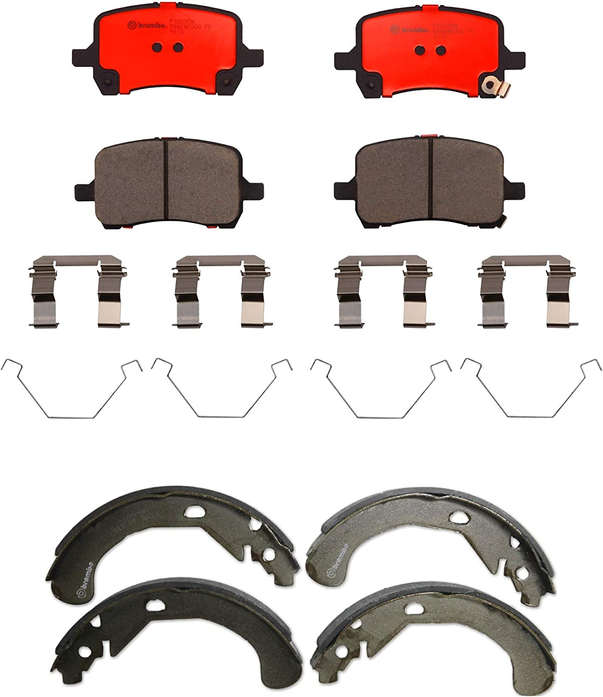 Brand Cheap Sale Venue Premium Front Max 45% OFF Brake Pad Set Ceramic Kit Chevrolet Rear Shoes For