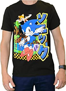 Official Sonic The Hedgehog Shirt- Classic Sonic and Tails