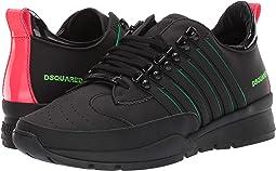 Black/Green Fluo