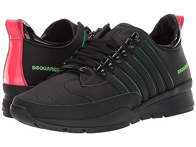 DSQUARED2 251 Sneaker (Black/Green Fluo) Men