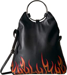 Flames Flap Over Crossbody