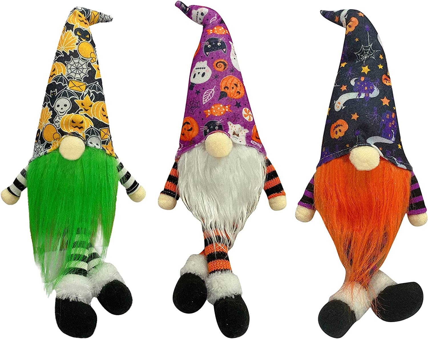 OLOPE 3Pcs Halloween latest Gnome Plush Do Faceless Handmade Free shipping anywhere in the nation Decoration