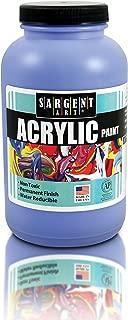Sargent Art 24-2050 Paint Wide Mouth Bottle Acrylics, Blue