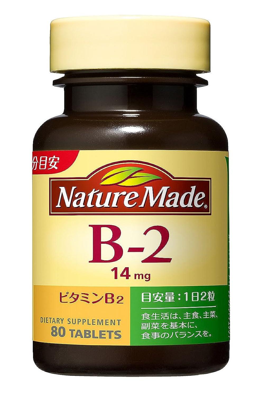 タイル三十事前に大塚製薬 ネイチャーメイド ビタミンB-2 80粒