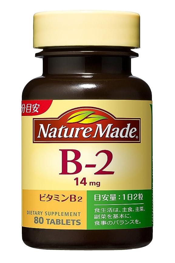 ハング仮定する欠かせない大塚製薬 ネイチャーメイド ビタミンB-2 80粒