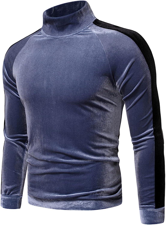 Men's Long Sleeve Workout Shirts Fishing Shirts for Men Crew Neck Sweatshirt Mens Long Shirt Party Shirts Tops