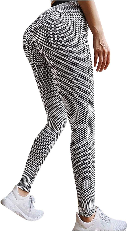 Butt Lift Leggings for Women,Women High Waisted Leggings Seamless Workout Yoga Pants Butt Lift Tummy Control