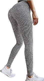 2 Pieces Sports Leggings Women NJGV Slim Fit High Waist Sports Leggins Compression Push Up Butt Lifter Anti-Cellulite Yoga...