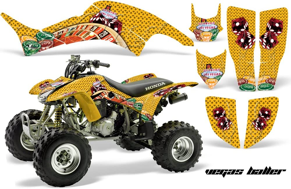 AMR Racing ATV Graphics kit Decal Ranking TOP5 Sacramento Mall Honda Compatible with Sticker