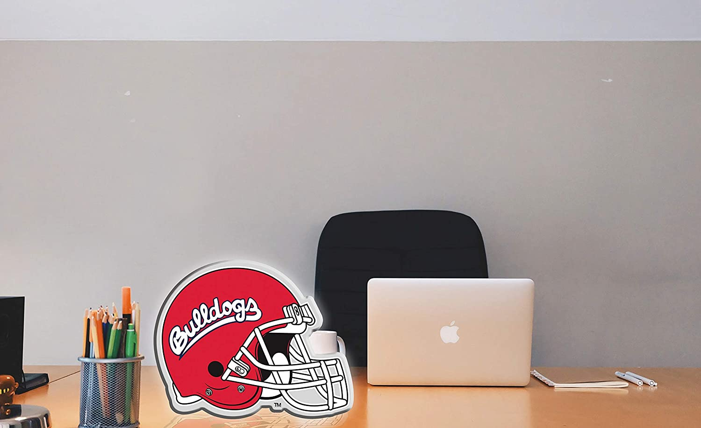 Sports Team Lamp Decor for Office Desk or Bedroom Night Light Man Cave Bar The Memory Company NCAA LED Team Logo Neon Light Sign