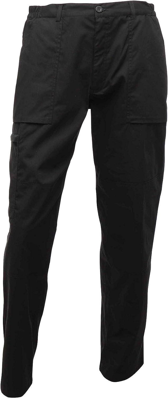 Regatta Action 28inch Width 33inch Length Trousers  Black by Regatta