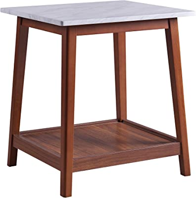Versanora Kingston Side Tables, Walnut