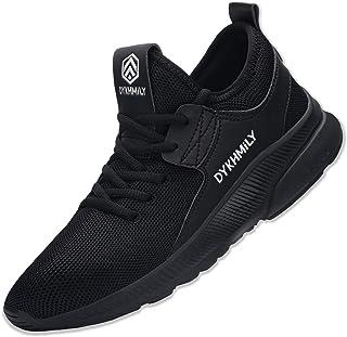 DYKHMILY Chaussure de Securité Homme Femme Imperméable Legere Baskets de Sécurité Embout Acier Chaussures de Travail