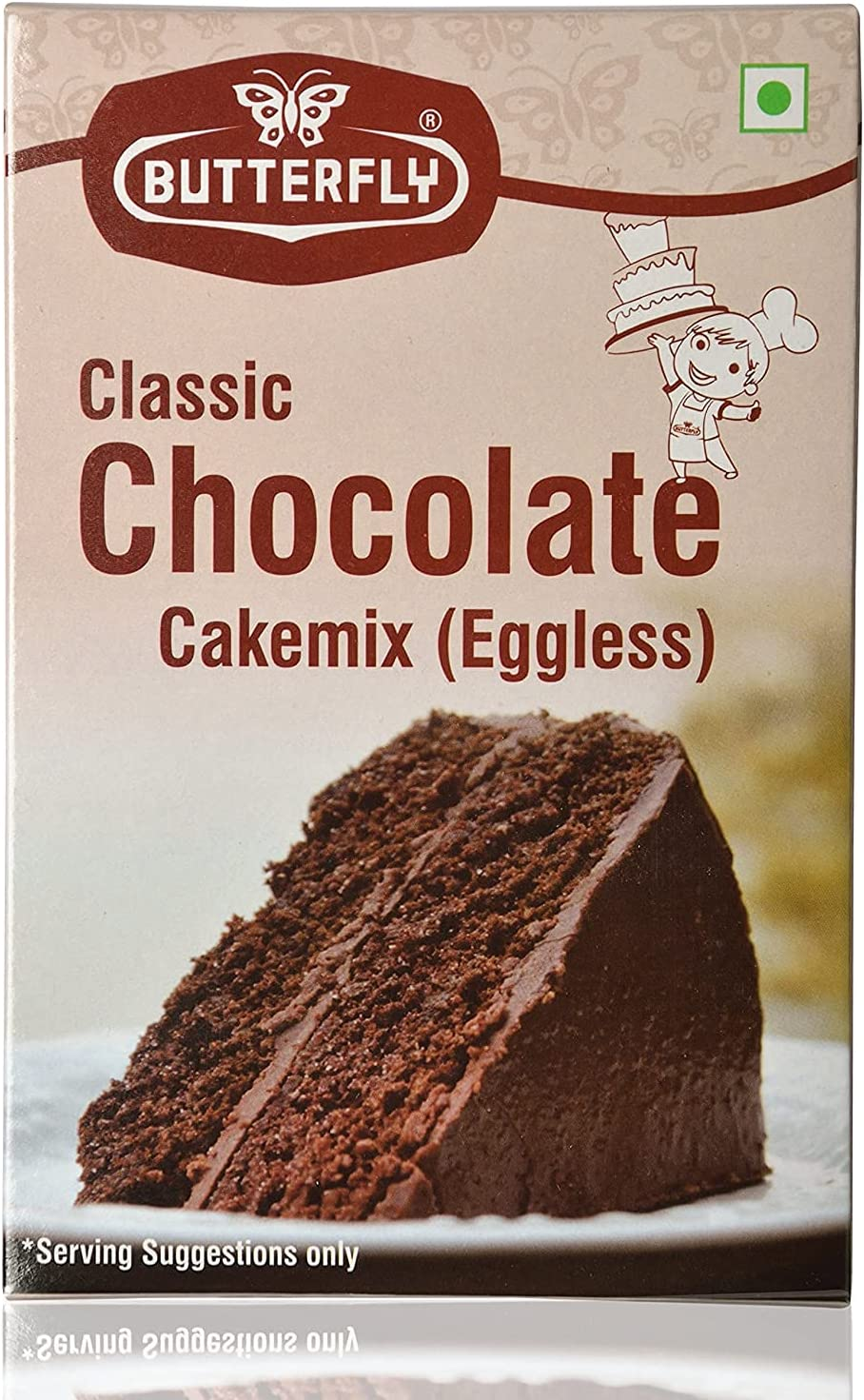 Jexmon Over item handling Butterfly Instant Cake Same day shipping Mix 200 Grams Chocolate