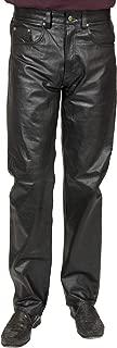Charades Men's Faux-Leather 4-Pocket Costume Pants