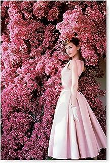 Funny Ugly Christmas Sweater Audrey Hepburn Portrait Fine Art for Home Decor Audrey Hepburn Poster Gift Pink Mood Poster 24