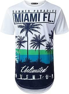 Best mens miami t shirt Reviews