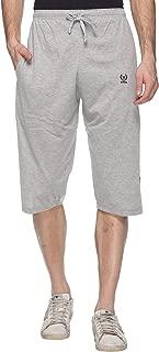VIMAL JONNEY Mens' Cotton Blended Capri